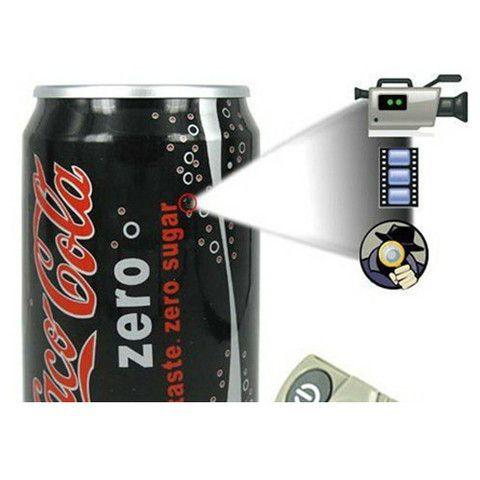 Coke Spy Camera Coca Cola Hidden Camera Can