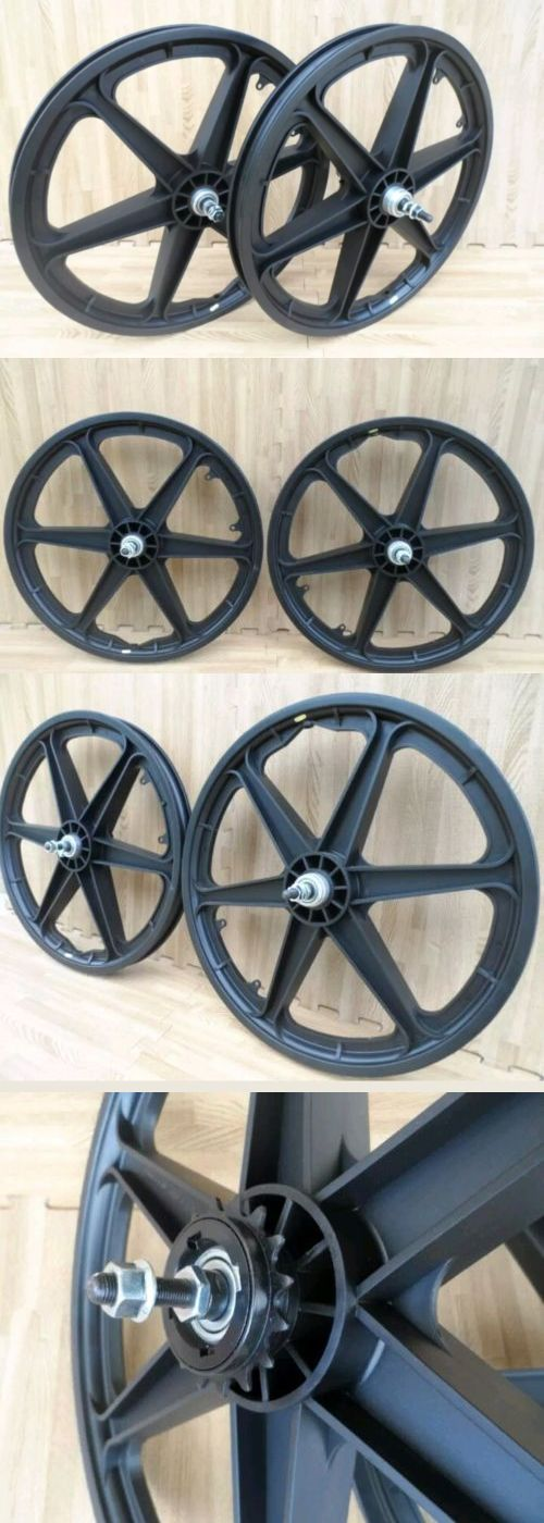 Rims 177821: 2 New 20 Mag Bicycle Wheels 6 Spoke Black For Gt Dyno Haro Or Bmx Bike (Set) -> BUY IT NOW ONLY: $65.99 on eBay!