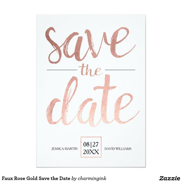 Best  Gold Save The Dates Ideas On   Metallic Wedding
