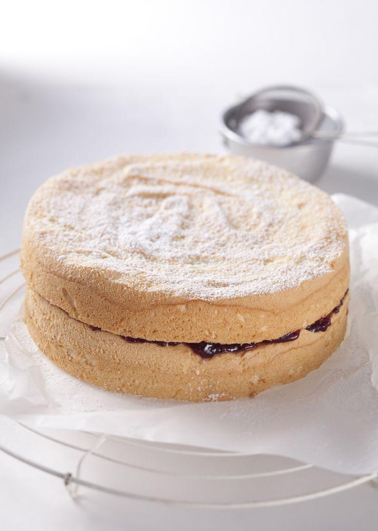 Get the basics right: Sponge cake