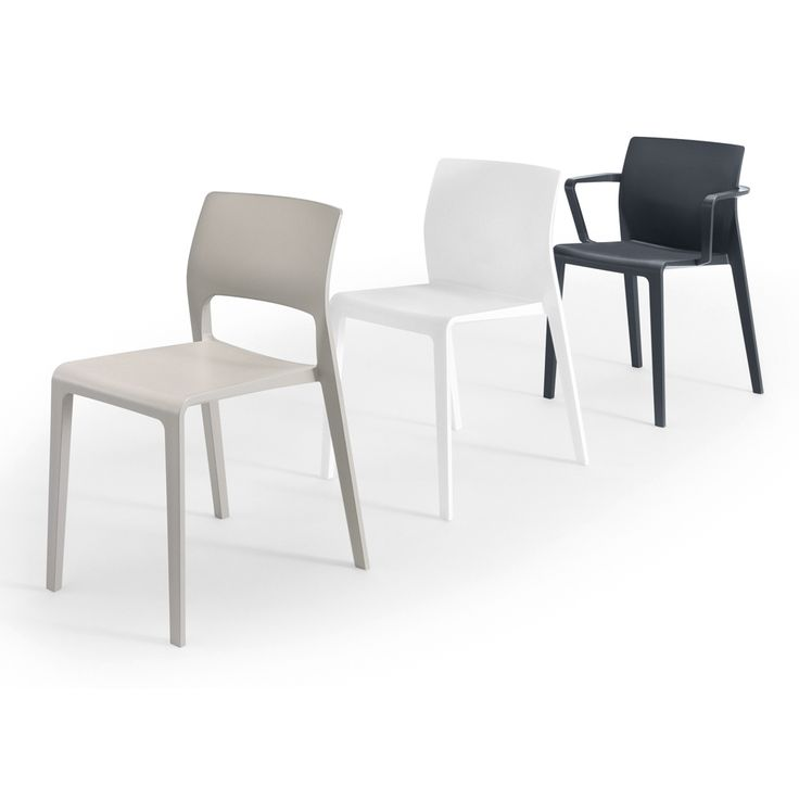 Stackable Polypropylene Chair Juno Collection By Arper