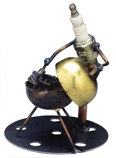 Dick Cooley Sculptural Metal:  Great gift ideas for that person who has everything!