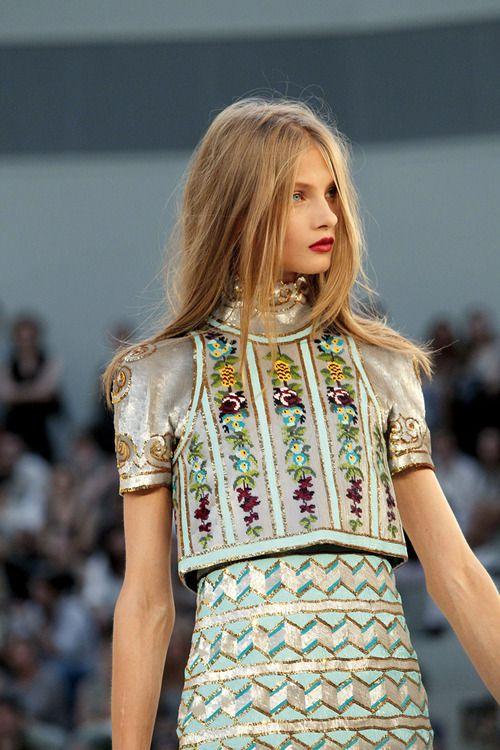Chanel Haute Couture F/W 10.11 Paris