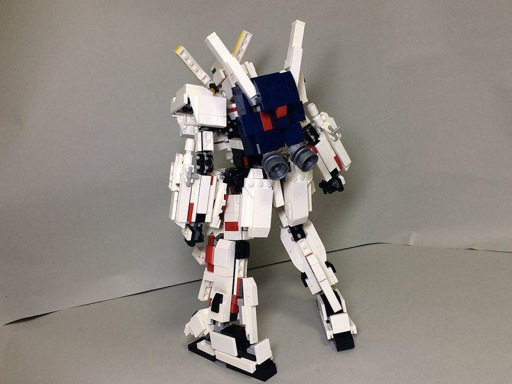 【LEGO】RX-0 ユニコーンガンダム デストロイモード