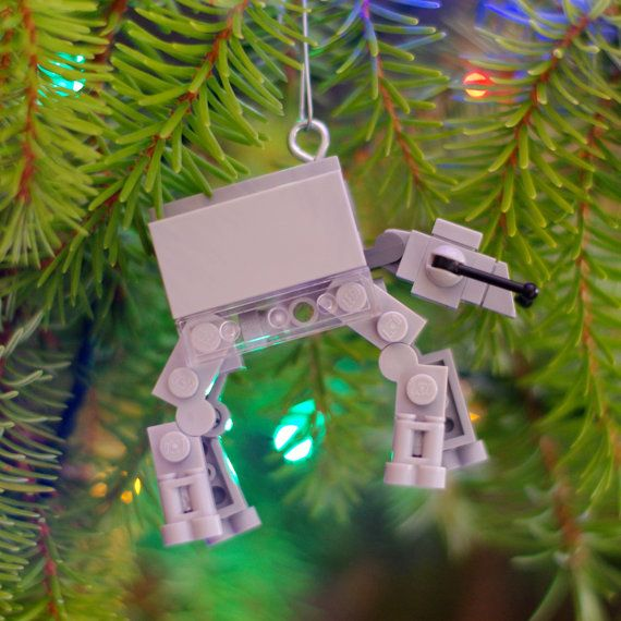 AT-AT LEGO ornament by boxhounds on Etsy.... Has some really cool stuff for sale all made of Legos!!