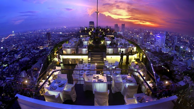 Will always long to return here!   Moon Bar - Bangkok