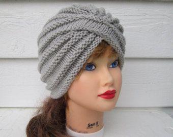 Turbante de sombrero turbante punto tejer sombreros de