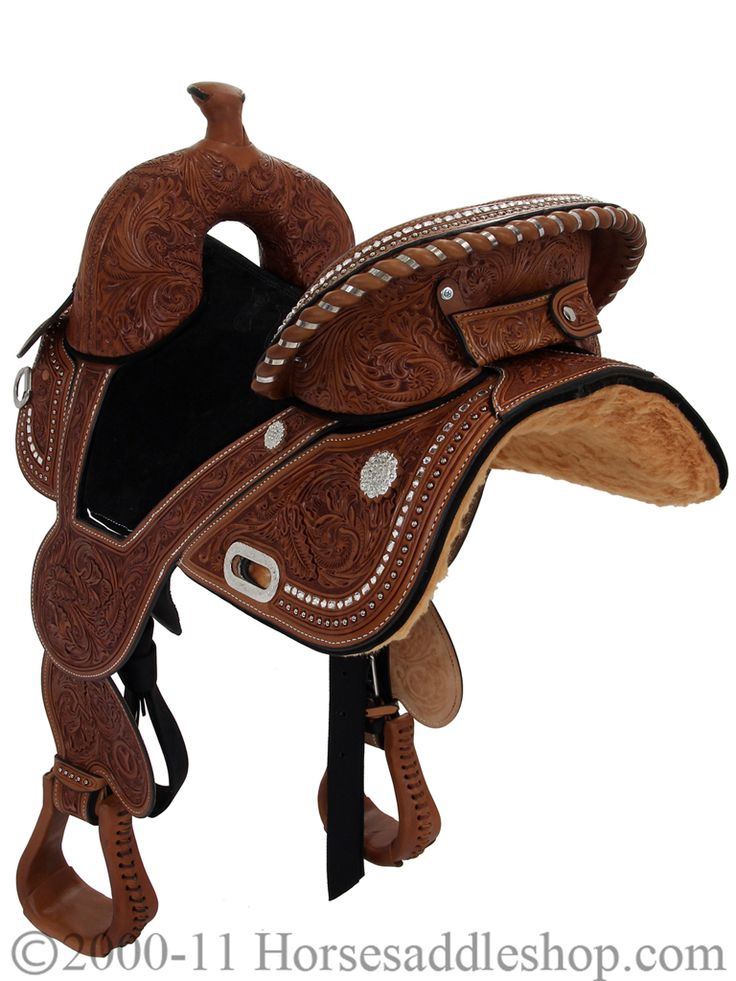 "10.5"" Circle Y Tammy Fischer Treeless Youth Barrel Racing Saddle ..."