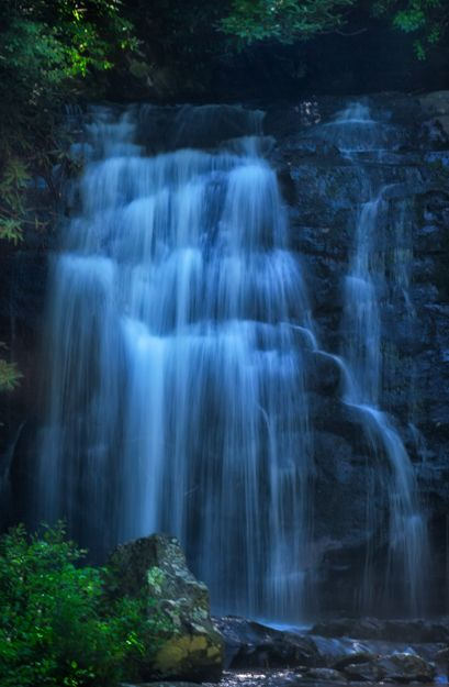 Meigs Falls, A Smoky Mountains Waterfall Right Along the Road