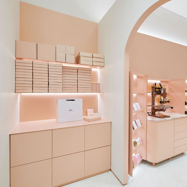 Tidy at our @chadstone_fashion store // shop personalised leather accessories via @thedailyedited www.thedailyedited.com //
