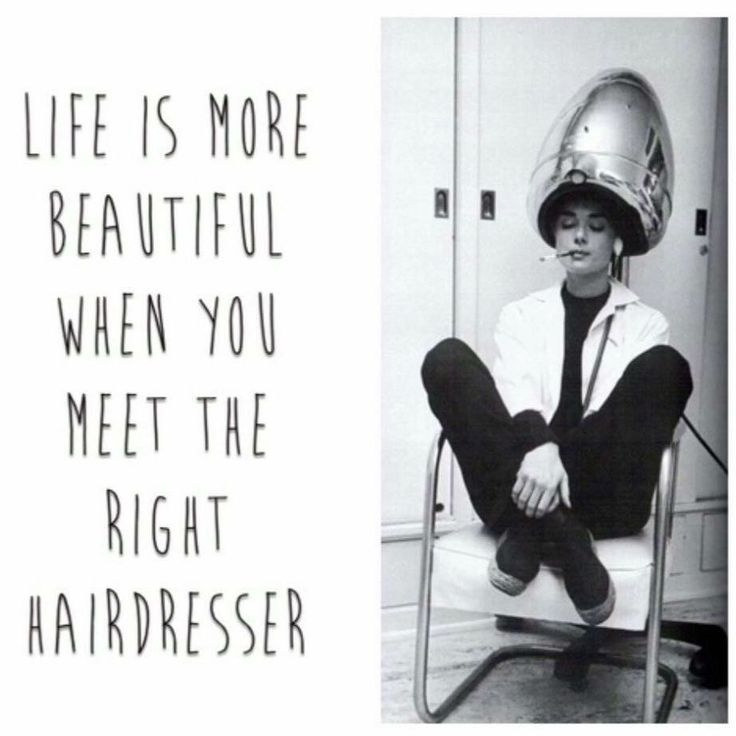 Life is more beautiful when you meet the right hairdresser