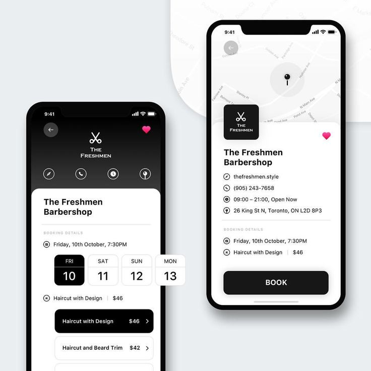 "19 Likes, 1 Comments - Erica| Designer & Coder (@elillume) on Instagram: ""Barbershop UI Design (by Erica) #iphonex #uidesign #uxdesign @dribbblers @ui.designs"""