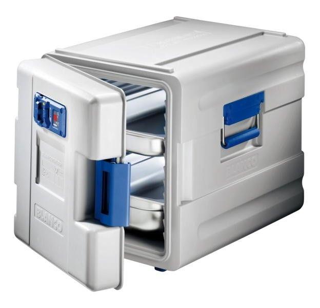 GTARDO.DE:  Kunststoff Speisentransportbehälter mit Flügeltür, umluftbeheizt 40 bis 85°C, 11 Paar Auflagesicken, 2xGN 1/1-150 788,00 €