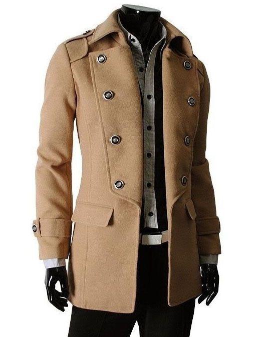 14 best Mens Wool Coats images on Pinterest   Mens wool coats, Men ...