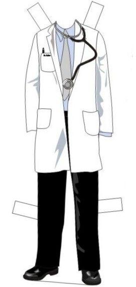 Paper Dolls ✿ Dr. Cullen