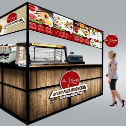 Paket Small Pax Ro-cket Pizza Indonesia Franchise