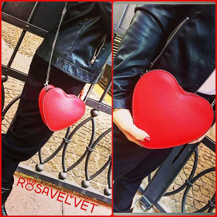 Borsa a cuore in pelle made in Italy. Fashion accessories available on out website.