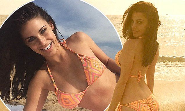 Jessica Lowndes exhibits her toned and shapely bikini figure