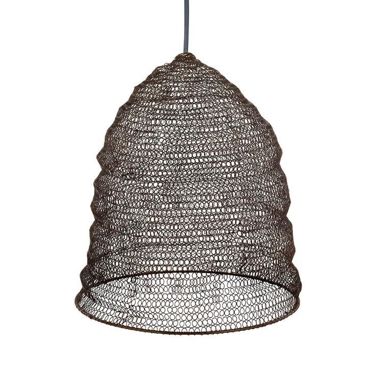 suspension fil de fer jatani fil de fer macram. Black Bedroom Furniture Sets. Home Design Ideas