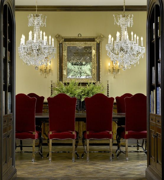 Dining TraditionalNeoclassical Victorian By Frank Ponterio Interior Design