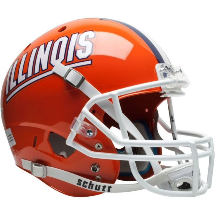 Schutt Illinois Fighting Illini XP Replica Football Helmet, Team