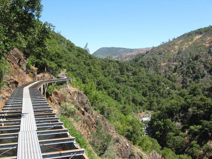 Paradise Flumes Mountain Bike Trail in Paradise, California || SINGLETRACKS.COM