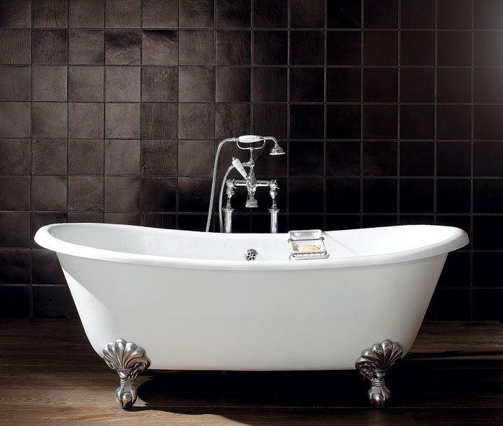 Vasca da bagno in ghisa su piedi ADMIRAL Collezione Admiral by Devon&Devon