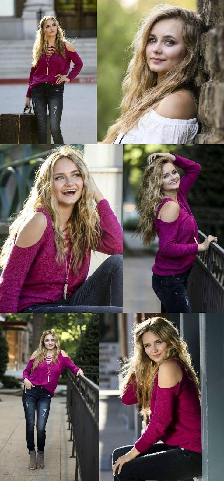 Senior pictures for girls, click the pic for more photo posing ideas for boys and girls in urban and park setting by Dallas Photographer Lisa McNiel