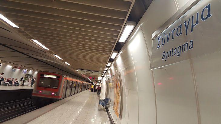 Como ir do aeroporto para o centro de Atenas | Viaje Comigo