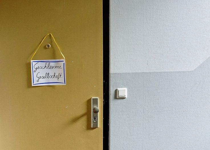 Geschlossene Gesellschaft - Einlasskontrollen verhelfen zu einem aufgeräumten Zuhause by TOC