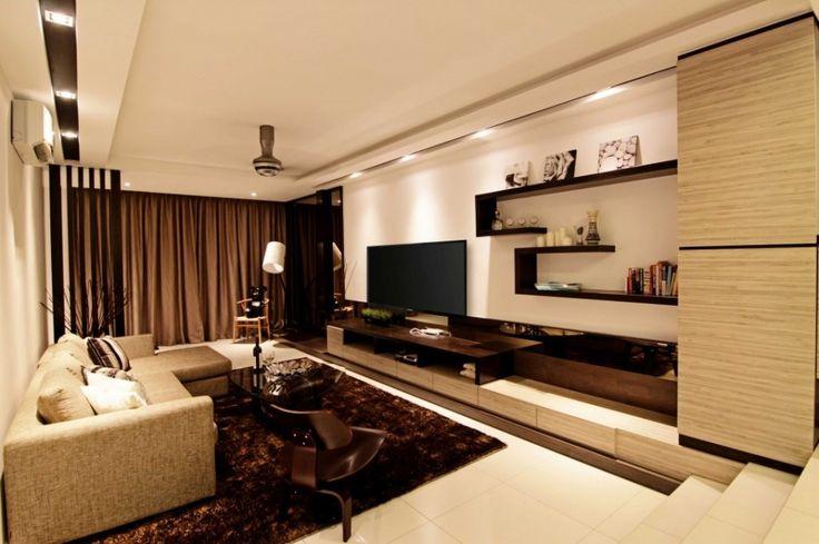Living Room Tv Wall Simple