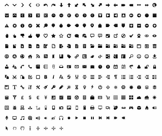 244 Toolbar Icons for GUI Designer | Free Icon | All Free Web Resources for Designer - Web Design Hot!