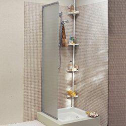 Estantería de ángulo extensible para bañera o ducha La Redoute Interieurs