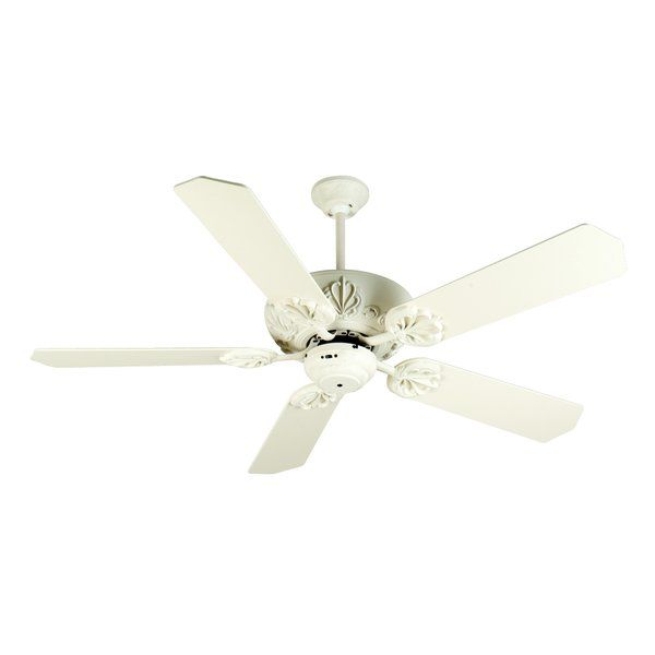 52 Ellis 5 Blade Ceiling Fan Ceiling Fan Ceiling Fan With Remote White Ceiling Fan