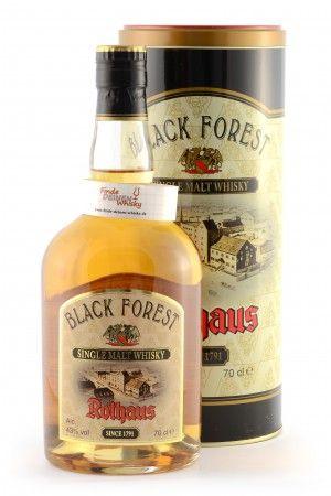 Black Forest Rothaus Single Malt Whisky, 43%