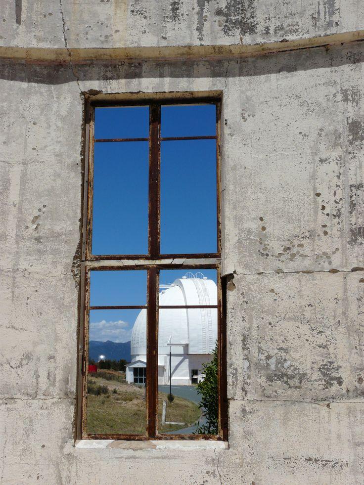 Mount Stromlo Observatory after the bushflres. Mount Stromlo  in the Australian Capital Territory, Australia.