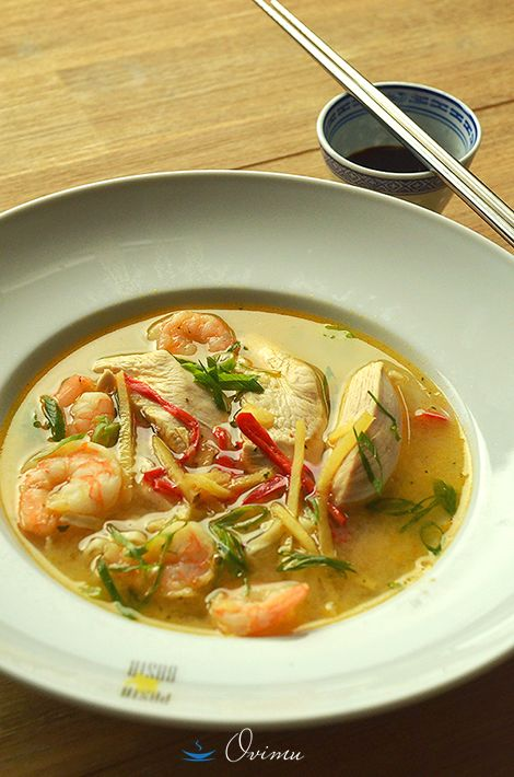 Черновик очумелого кулинара - Азиатский суп с лапшой.