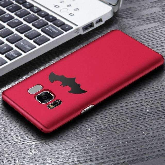 Luxury Batman Phone Case For Samsung Galaxy S8 / S8 Plus Coque Protective PC Hard Back Cover For Samsung Galaxy S7 / S7 Edge New