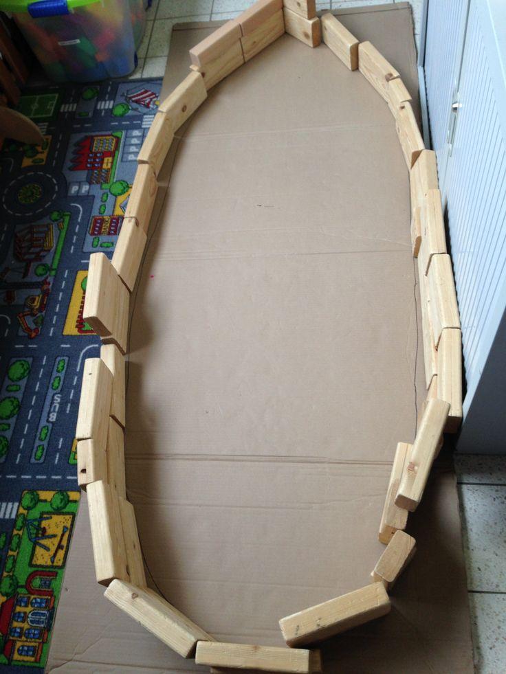 Kano bouwen in de bouwhoek!