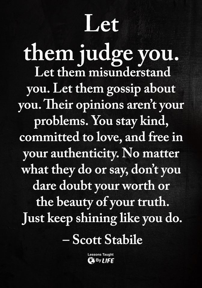 Now I Learned A Lesson That People Will Always Judge U Even If You