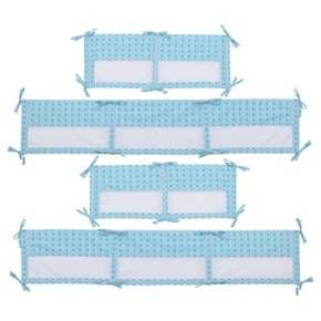 Line baby's sea-themed crib with the Disney Baby Ariel Sea Princess Secure-Me Crib Liner*. This easy to install, four piece design features an aqua and white shell pattern with printed corner ties. The Crib Liner helps keep arms and legs safe inside crib slats, prevents dropped or lost pacifiers, and features a mesh construction that keeps baby cooler in warmer temperatures. Flexible design fits most standard and convertible cribs. Made of 2 long and 2 short side segments. The Crib Liner*...