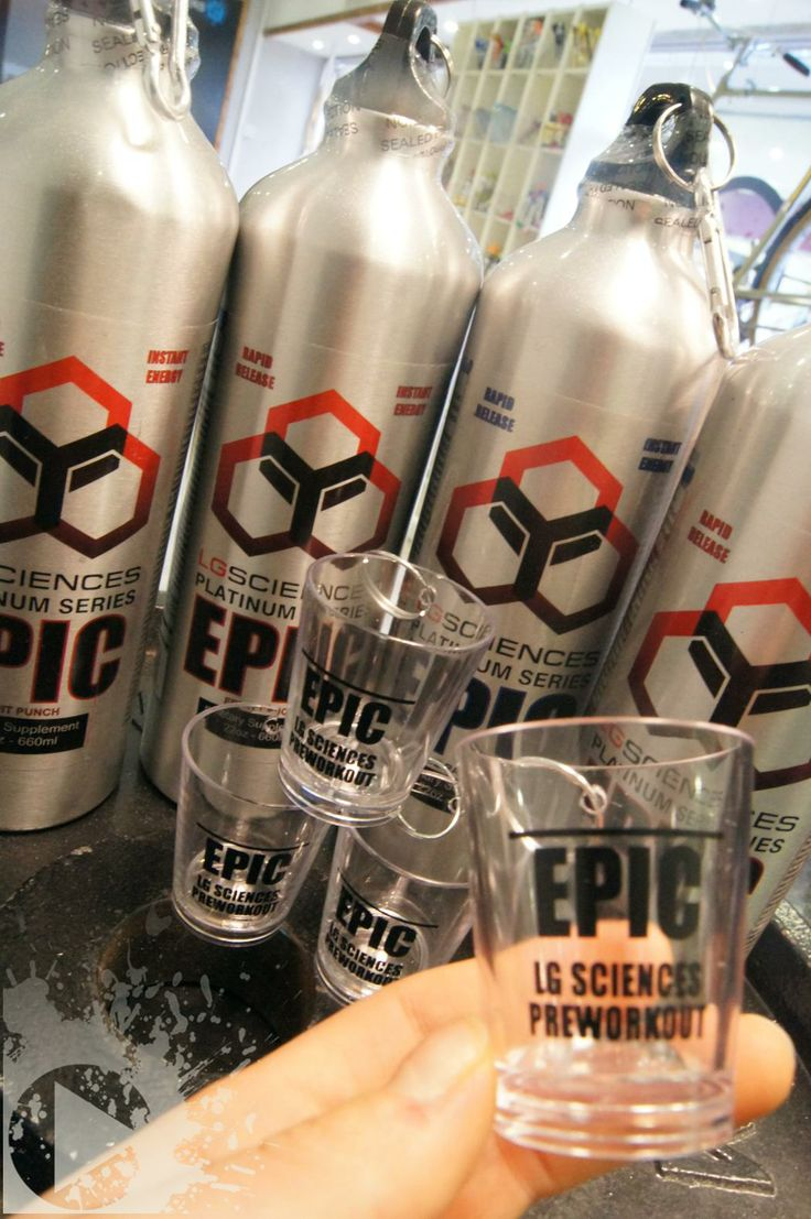 Brand New! The pre-workout that hits you in 60 seconds, Epic by LG Sciences LLC. Are you brave enough to try the insanity dosage? It's going to be Epic #FitFor14
