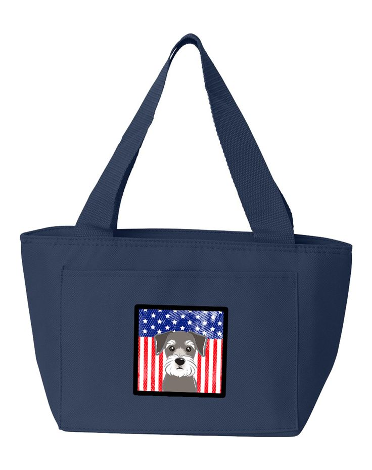 <!-- SEO Manager 4.2.5 --> <title>American Flag and Schnauzer Lunch Bag BB2136NA-8808 $ 12.99