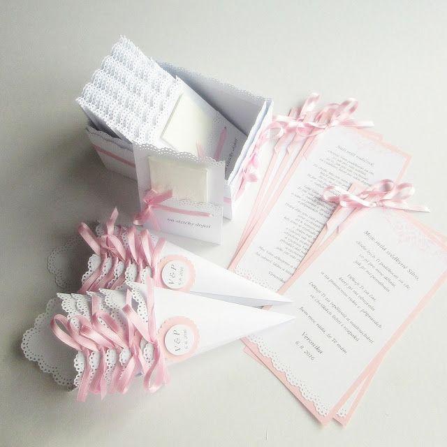 Gabi´s Creations: {WEDDINGS} Na přání růžový set Vintage Lace s úpravou