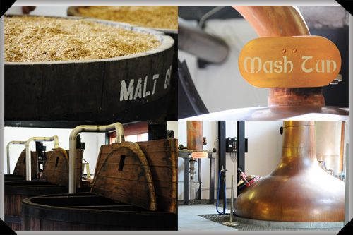 Whiskey-making at the Isle of Arran distillery