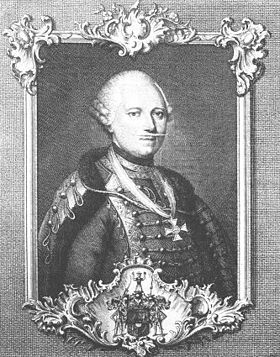 Dagobert Sigmund von Wurmser (né à Strasbourg le 22 septembre 1724, mort à Vienne le 22 août 1797) est un Alsacien qui fut général autrichien. Feld-maréchal, commandant les troupes autrichiennes en Italie dans la campagne de 1796. Il fut battu, en Italie, à diverses reprises, par Napoléon Bonaparte.
