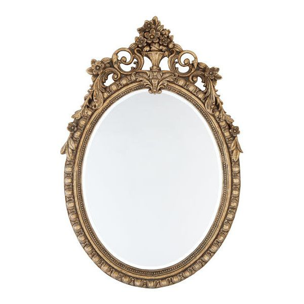 Round French Gilded Mirror | Mirrors | Wisteria ($249) ❤ liked on Polyvore featuring fillers, frames, backgrounds, decor, mirrors, borders, text, effects, doodles and article