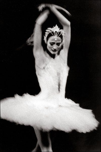 Julie Kent as Odette.    Photo by Paul B. Goode Dance Photography.