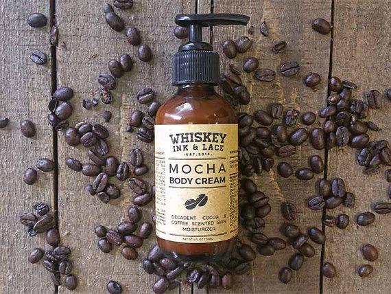 Mocha Body Cream  All natural and vegan от WhiskeyInkandLace