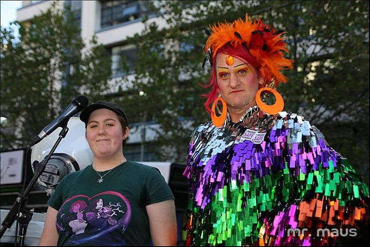 Snap Rally Action in Defence of Safe Schools. Melbourne. Photos Andy Miller - Gay News Network